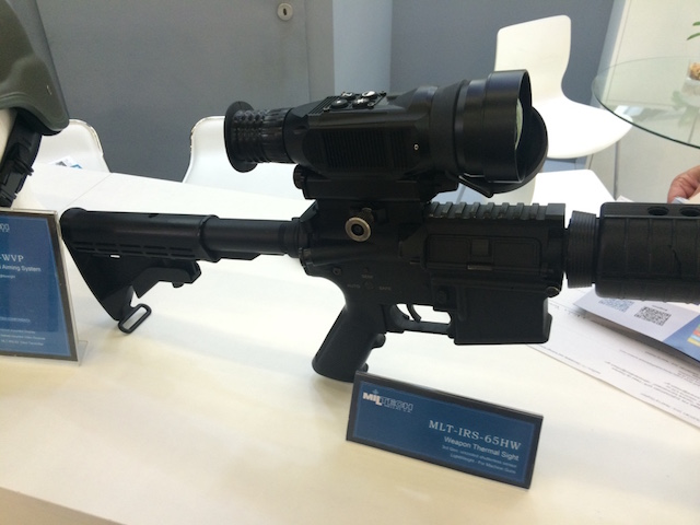 Eurosatory 2016 Combat proven EO IR technology for future soldier by Miltech Hellas 2