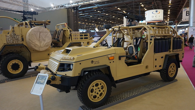 Eurosatory 2016 Supacat introduces the LRV400 Mk2 at the EMEA market