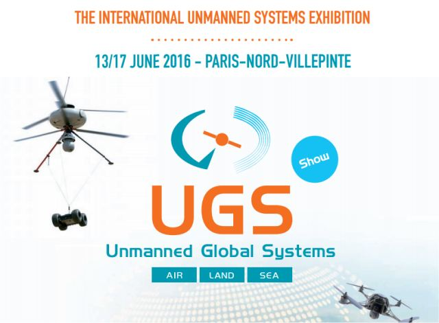 UGS show (Unmanned Global System), the Eurosatory drone component: this show will present the whole chain of multi-environment drones and unmanned systems, intended for defence, security and civil use. Visitors will have the opportunity to access both exhibitions.