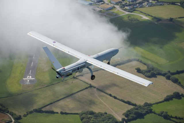 Thales wins 107mn contract to support British Armys Watchkeeper UAVs 640 001