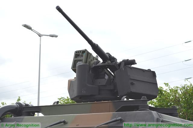 At Eurosatory 2016, the Italian Company Leonardo presents an LMV Light Mutirole Vehicle from Iveco fitted with the HITROLE light RWS (Remote Weapon Station) armed with a 12.7mm heavy machine gun. Due to its light weight and innovative design. HITROLE* Light can be easily installed on the roof of all types of vehicles including Utility Vehicles, both tracked and wheeled, up to Main Battle Tanks as secondary armament. No penetration of the hull is required.