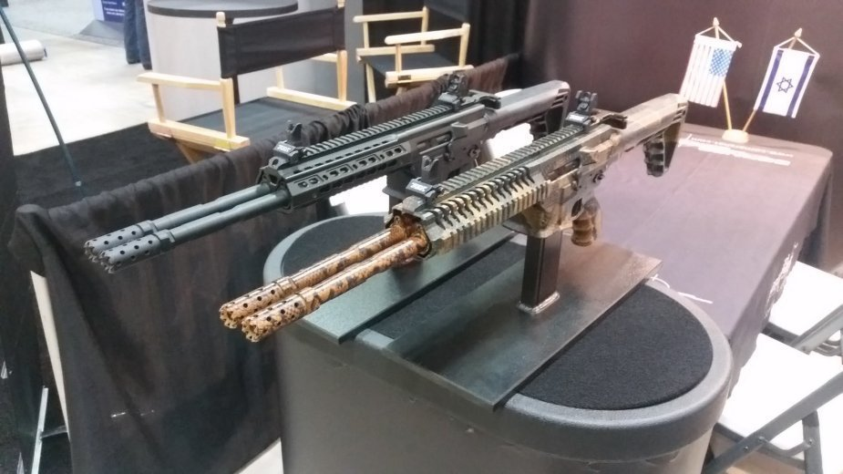 Gilboa DBR Snake in 223 Rem double the firepower 2