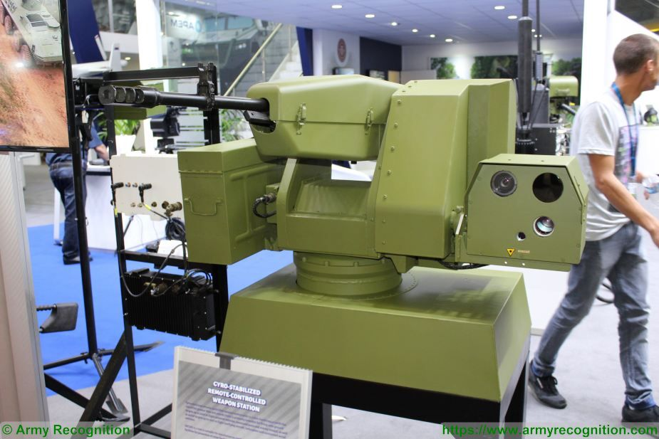 Yugoimport from Serbia presents remote weapon station Eurosatory 2018 925 001