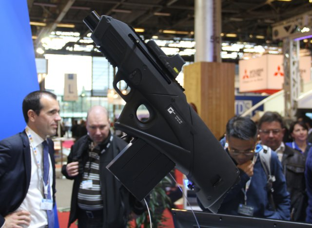 Alsetex new Cougar MS 40 40mm launcher unveiled at Milipol 2015 640 001