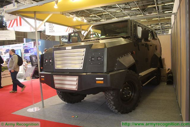 MiG01 SIB 4x4 light protected vehicle Milipol 2015 worldwide exhibition of Internal State Security Paris France 640 001