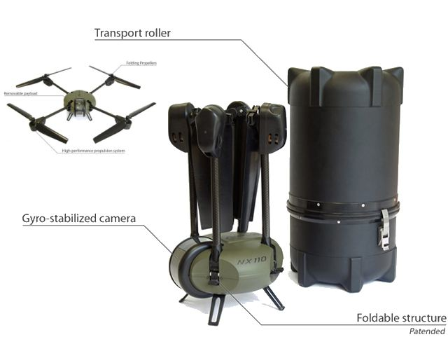 Novadem, a French drone manufacturer member of EDEN cluster launches its new S90 drone able to carry HD cameras and a cabled power supply solution to allow its drones to provide continuous surveillance. Novadem also exhibits its NX110 drone which is used by the French Armed Force and firefighter units of France.