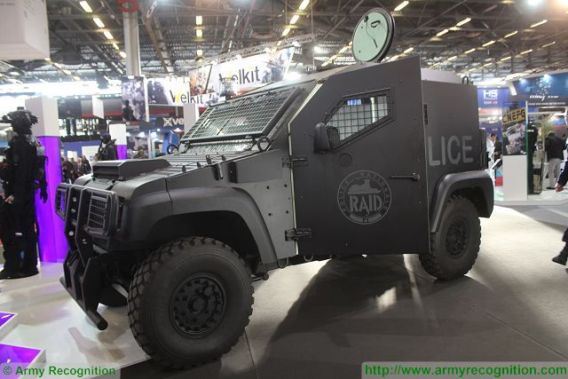 This year the RAID (Research, Assistance, Intervention, Deterrence), the elite tactical unit of the French National Police has received five PVP light protected vehicles manufactured by the French Company Panhard, now a subdivision of Renault Trucks Defense.