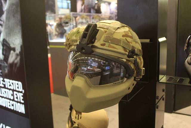 Revision is a Canadian-based defense Company who develops and delivers purpose-built protective equipment for military use worldwide. At Milipol 2015, Revision showcases its Cobra Plus Helmet, offers an ultra-lightweight helmet that exceeds the UK's stringent ballistic and impact requirements and can be coupled with the patented Modular Protective Attachment System (MPAS) for full face protection.
