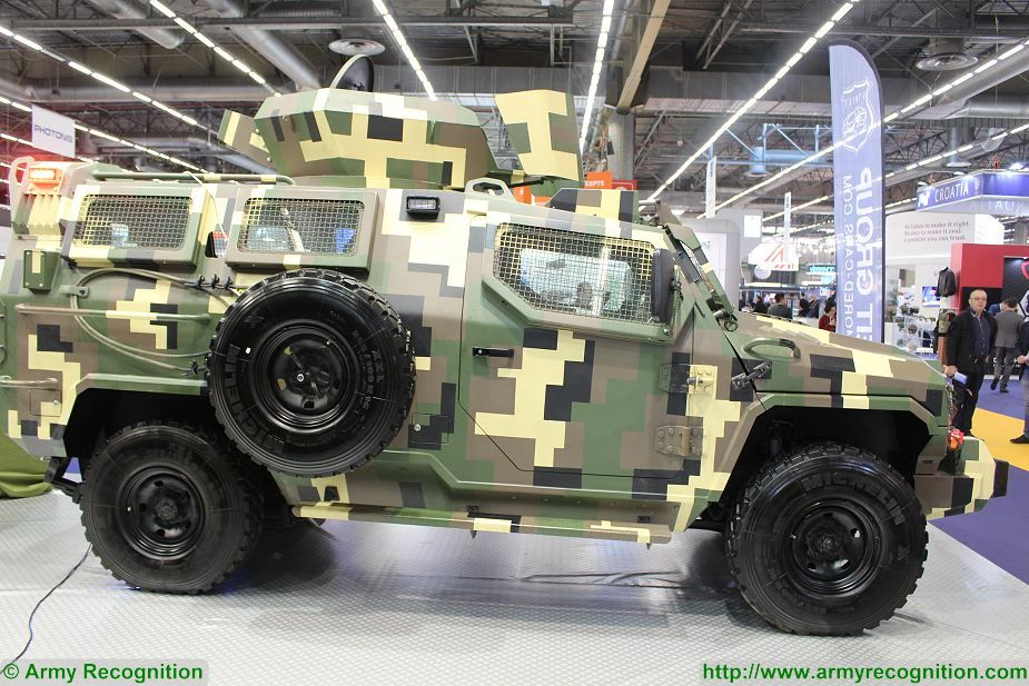 Streit Group security vehicles 4x4 armoured Scorpion Gepard Python at Milipol Paris 2017 France 925 002