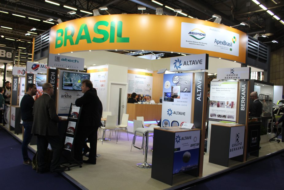 Strong presence of the Brazilian industry 001