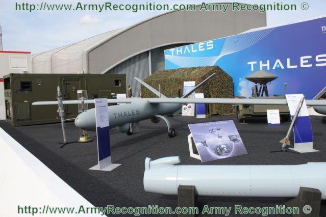 Exhibition Stand Design Proposal : French defense industry unmanned aerial systems uas invade