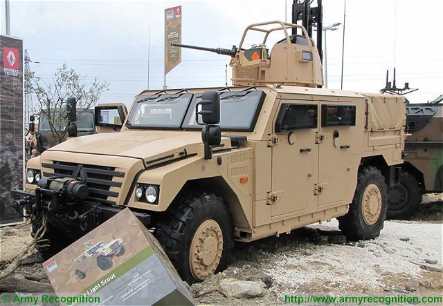 Sherpa Light Scout RTD Renault Trucks Defense SOFINS 2015 Special Operations Forces Exhibition France 001