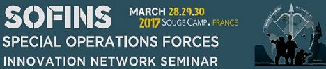 SOFINS 2017 exhibitor visitors news Special Operations Forces Innovation Network Seminar Exhibition Camp Souge Military Base France