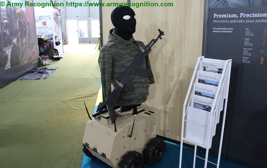 SOFINS 2019 Scopus showcases its compact armour and infantry targets