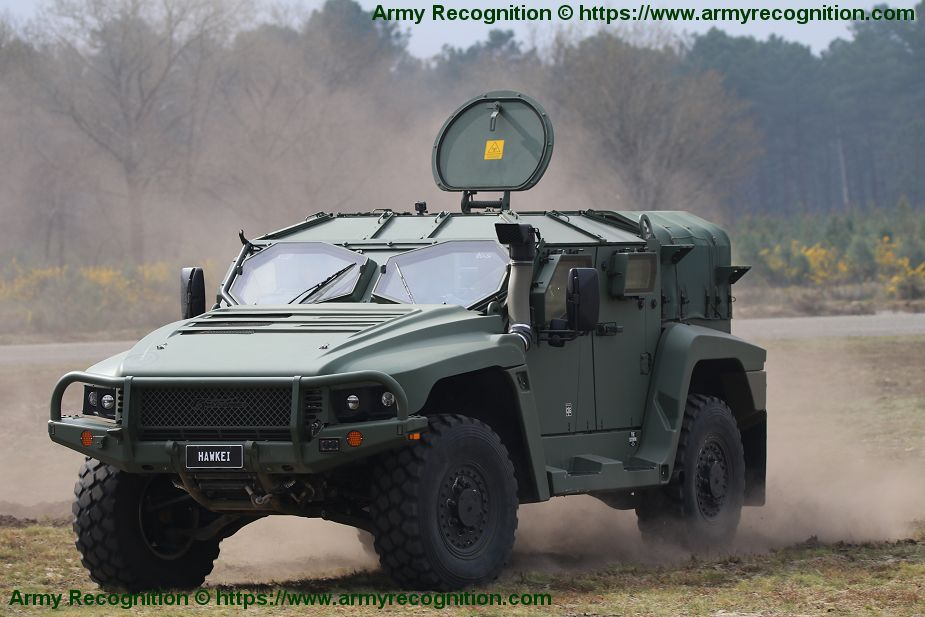 Thales continues to promote Hawkei 4x4 light protected vehicle for European market 925 001
