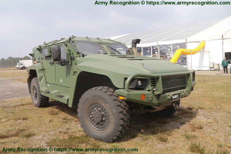 Thales continues to promote Hawkei 4x4 light protected vehicle for European market 925 002