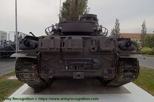AMX 30 MBT main battle tank France French army defense industry rear view 002