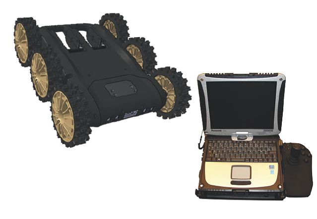 "NERVA®-HD offers the standard level of nominal performances of NERVA® family (fast, robust, long radio range…), with additional capabilities in terms of mobility (obstacle management) and payloads: It can simultaneously operate two ""Missions Kits"" (CBRN Reconnaissance, C-IED, rescue, autonomous exploration and mapping, combat…)."