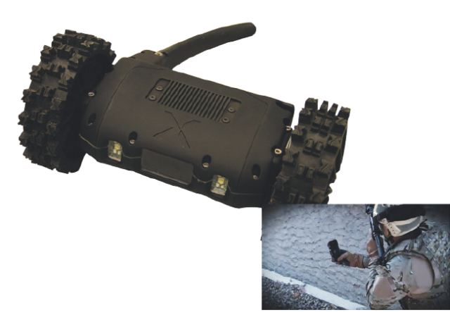 NERVA®-S robotics system is primarily made to quickly collect operational information at long range. The platform can operate for hours without recharging the on-board batteries. It is equipped with a High-Definition and High-Sensitivity front camera which is suitable for day and night missions (using, if required, additional visible and infrared high power on-board lights).