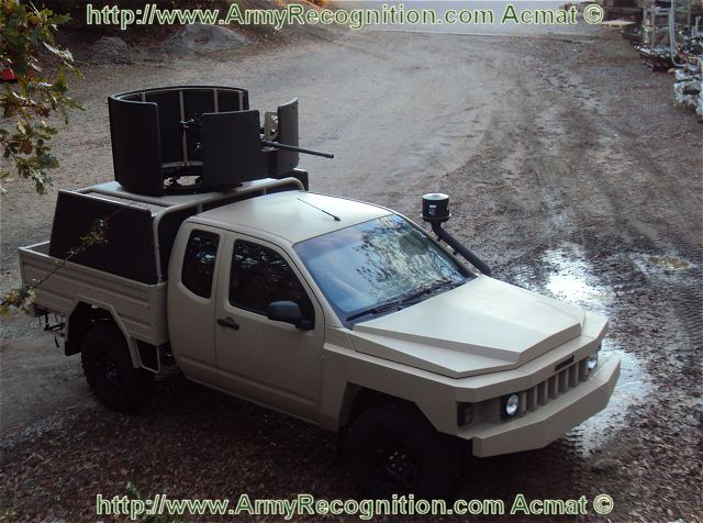 ALTV Check Point light protected firing post technical data sheet specifications information description intelligence pictures photos images video Acmat France French Defence Industry