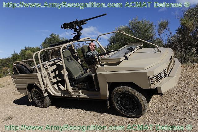 ALTV Torpedo Acmat fast attack Special Forces vehicle technical data sheet specifications information description intelligence identification pictures photos images video France French Defence Industry army military technology
