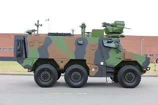Griffon VBMR 6x6 Armoured Multi roles vehicle France French army defense industry military equipment right side view 004