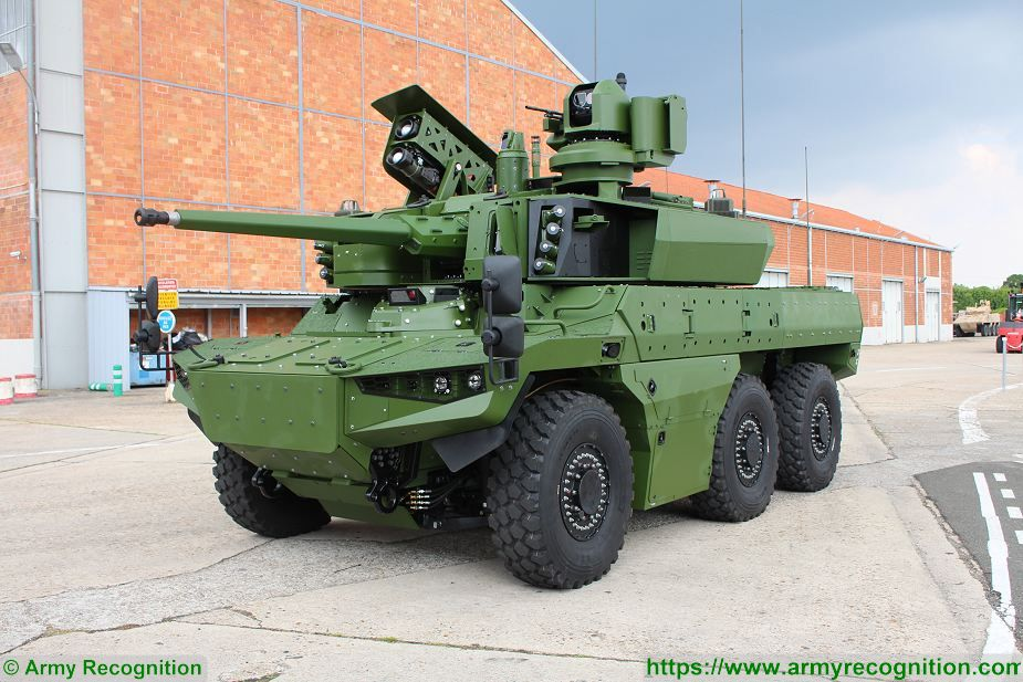 Jaguar EBRC 6x6 Reconnaissance and Combat Armoured Vehicle France French army defense industry 925 001