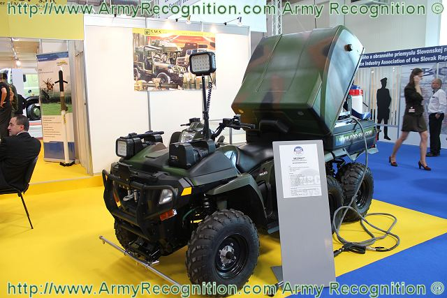 At the International Defence Exhibition of Bratislava, IDEB 2012, the French Company NBC-Sys presents the MEERKAT, a new multi-purpose NRBC system with decontamination equipment mounted at the rear of a Polaris 6x6 vehicle. From design to manufacturing, through to customer support, NBC-Sys – subsidiary of NEXTER GROUP - is a leading expert in various technologies for protection against Nuclear, Radiological, Biological or Chemical threats (CBRN).