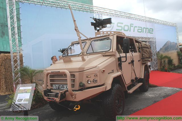 Outfielder Soframe 4x4 light fast attack Special Forces vehicle France French defense industry 640 001