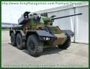 Sphinx Panhard Lockheed Martin turret 40mm CTA gun Combat Reconnaissance 6x6 Light Armored vehicle technical data sheet specifications information description intelligence identification pictures photos images video France French Defence Industry army military technology