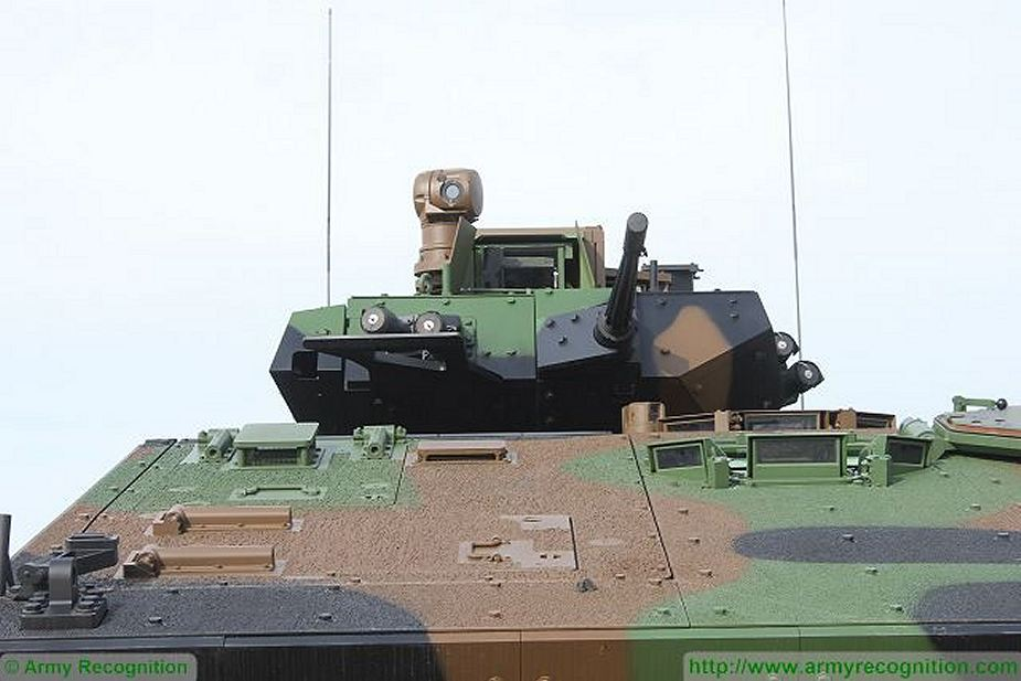 VBCI 8x8 wheeled armoured infantry fighting vehicle Nexter Systems France French army defense industry details 001