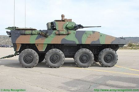 VBCI 8x8 wheeled armoured infantry fighting vehicle Nexter Systems France French army defense industry right side view 003