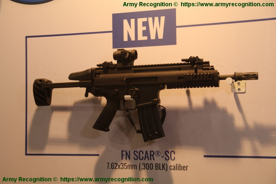 Enforce TAC 2019: New FN SCAR-SC Subcompact Carbine in 7 62x35mm
