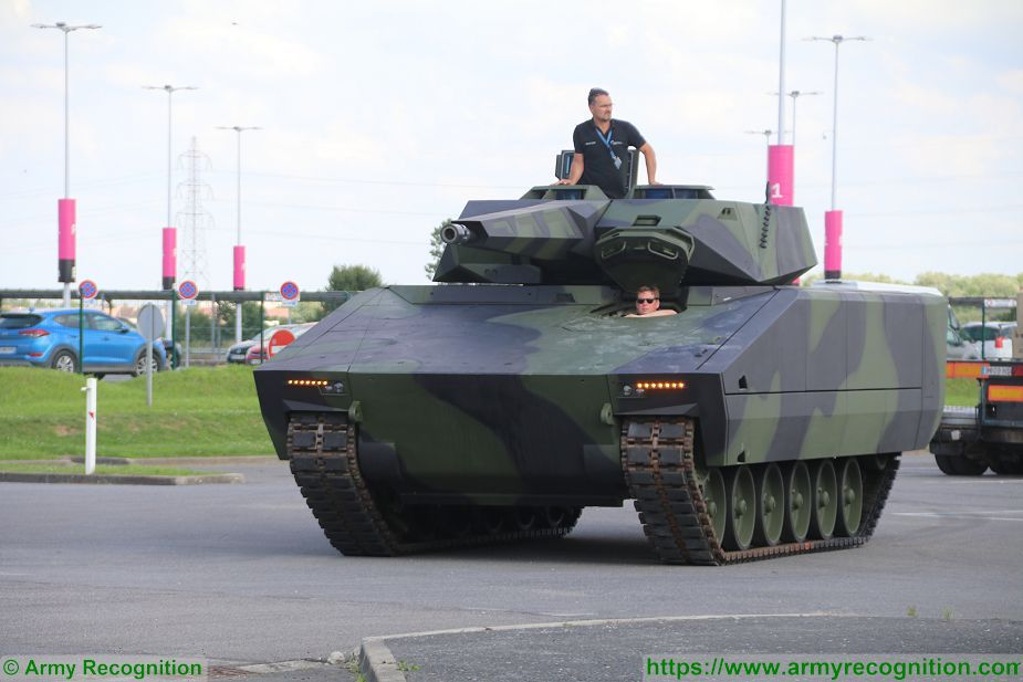 KF41 Lynx IFV tracked armored Infantry Fighting Vehicle Rheinmetall Defence German Germany industry 925 001