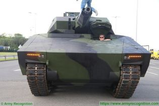 KF41 Lynx IFV tracked armored Infantry Fighting Vehicle Rheinmetall Defence German Germany industry front view 001
