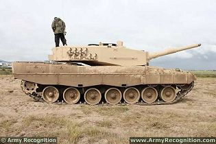 Leopard 2A4 main battle tank technical data sheet specifications information description intelligence pictures photos images identification Germany German army KMW Krauss-Maffei Wegmanndefense industry military technology