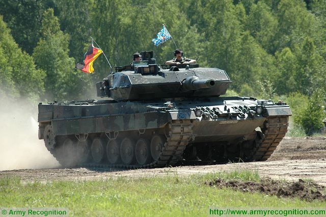 Leopard 2A5 main battle tank German Germany KMW military equipment defense industry 640 003