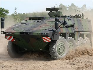 Boxer MRAV Multi Role Armoured Vehicle technical data sheet specifications information description intelligence pictures photos images identification Germany German army defense industry military technology