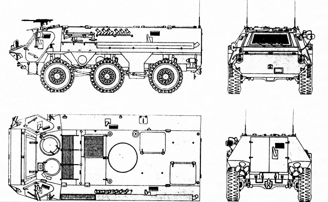 Fuchs TPz 1 6x6 armoured personnel carrier technical data sheet specifications information description intelligence pictures photos images identification Germany German army Rheinmetall defense industry military technology