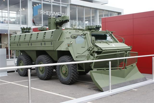 Late 2001, German Company Rheinmetall Landsysteme has designed a new version of the Fuchs under the name of Fuchs 2. The all-welded steel armour hull provides the occupants with protection from 7.62 mm armour piercing attack. The Fuchs 2 can be also fitted with armour kit to provide protection against 12.7 and 14.5 mm armour-piercing attack, artillery fragments and mines.