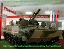 At Defendory 2008, the Russian defence company showed the latest generation of light armored infantry fighting vehicle, the BMP-3M. Russia and Greece are drafting an intergovernmental agreement and a contract for the supply of 420 BMP-3M infantry fighting vehicles. The main armament of the BMP-3M is a 100mm 2A70 semi-automatic rifled gun / missile launcher, which is stabilized in two axes and can fire either 3UOF HE-FRAG (High Explosive-Fragmentation) rounds or 3UBK10 anti-tank guided missiles. Effective range for the HE-FRAG round is 4,000m. Muzzle velocity is 250m/s. 22 HE-FRAG rounds can be carried in the automatic loader, total ammunition load being 40 rounds. Rate of fire is 10 rounds a minute.