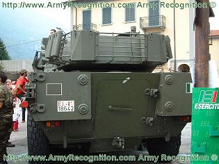 Centauro B1 105mm wheeled anti-tank armoured vehicle technical data sheet specifications description information pictures photos images identification intelligence Italy Italian IVECO Defence Vehicles OTO Melara Defence Industry military technology