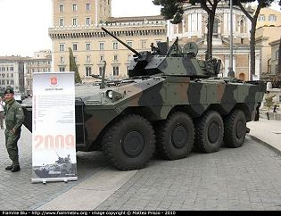 Centauro AIFV VBM Freccia armoured infantry fighting vehicle technical data sheet specifications description information pictures photos images identification intelligence Italy Italian IVECO Defence Vehicles OTO Melara Defence Industry military technology