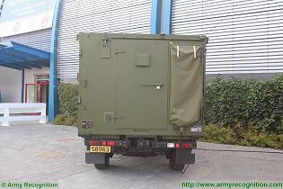 FDC Fire Distribution Center vehicle NASAMS technical data sheet specifications information description intelligence identification pictures photos images video information Norway Norwegian army defence industry military technology equipment