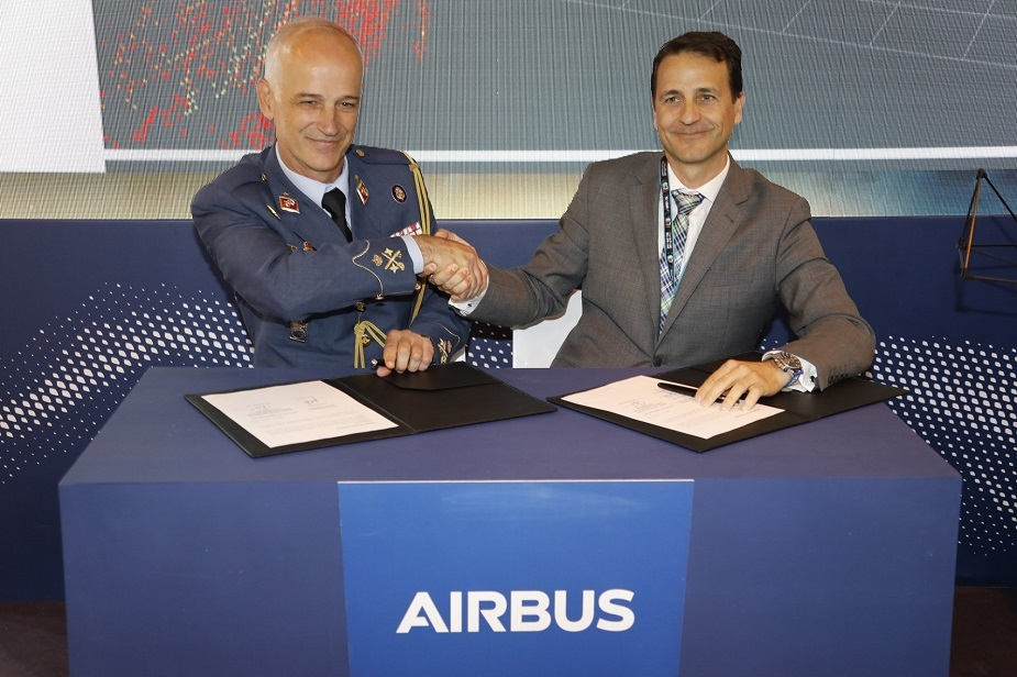 Airbus and Spanish Air Force to develop UAV and augmented reality inspections for military aircraft