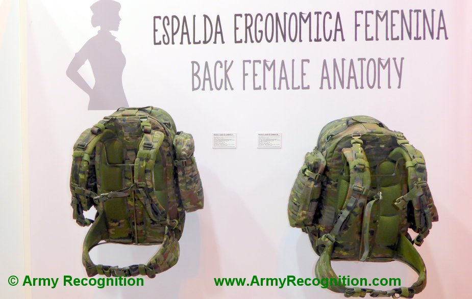 FEINDEF 2019 Altus showcases special backpacks for females and avalanche survivability 2