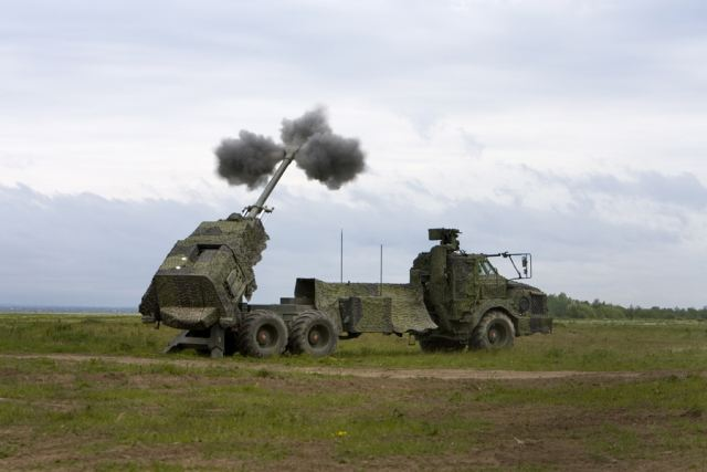 The Swedish army artillery regiment is now ready to start using the new wheeled self-propelled howitzer Archer, to replace the old towed howitzer 77B. In early December 2011, the first four units of Archer will be delivery on a total of 24 pieces.