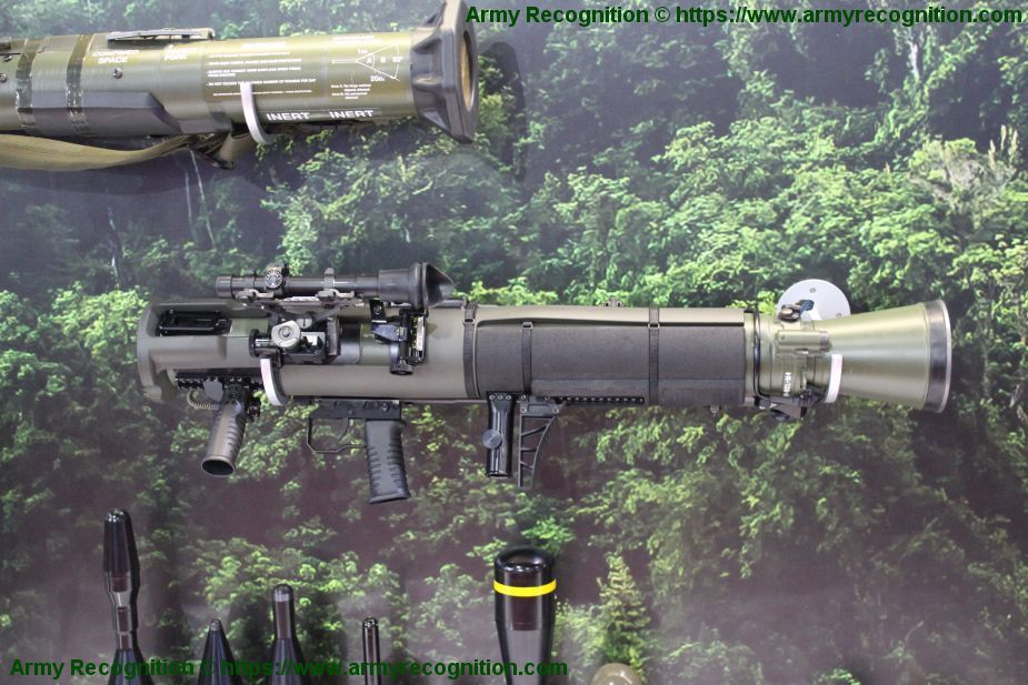Carl Gustaf M4 CGM4 multi role anti tank rocket weapon system SAAB Sweden Swedish defense industry 925 001