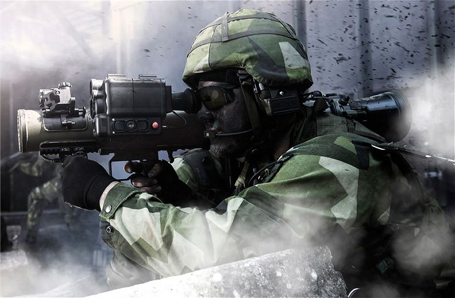 Carl Gustaf M4 CGM4 multi role anti tank rocket weapon system SAAB Sweden Swedish defense industry details 002