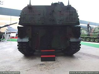 T-155 Firtina 155mm self-propelled howitzer technical data sheet specifications description information intelligence identification pictures photos images video tracked armoured Turkey Turkish army vehicle defence industry military technology